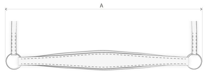 measurements-drop-noseband